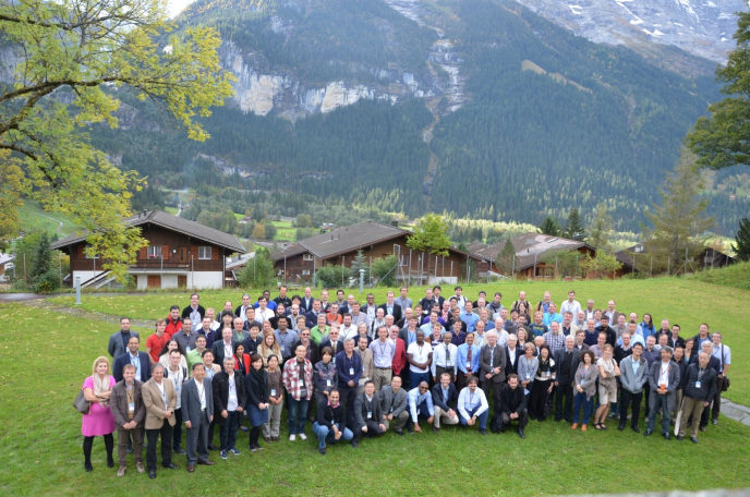 Conference photo at WCNR-10