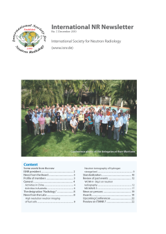 International NR-Newsletter no. 7
